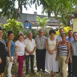 Kuba: Wizyta Arcybiskupa Juan de la Caridad García Rodríguez i sakrament bierzmowanie w Managua