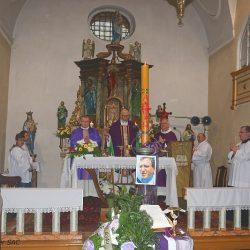 Msza św. w intencji zmarłego ks. Jana Baranieckiego.